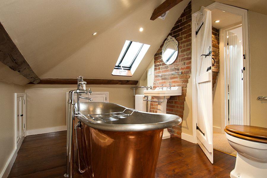 Rugged And Ravishing 25 Bathrooms With Brick Walls