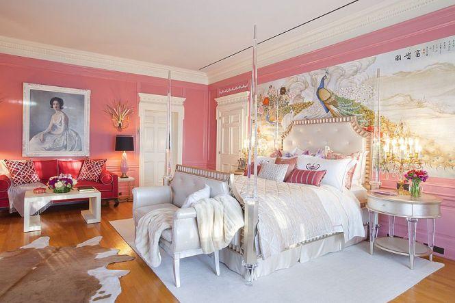 View In Gallery Ont Victorian Bedroom Pink Design Woodson Rummerfield S House Of