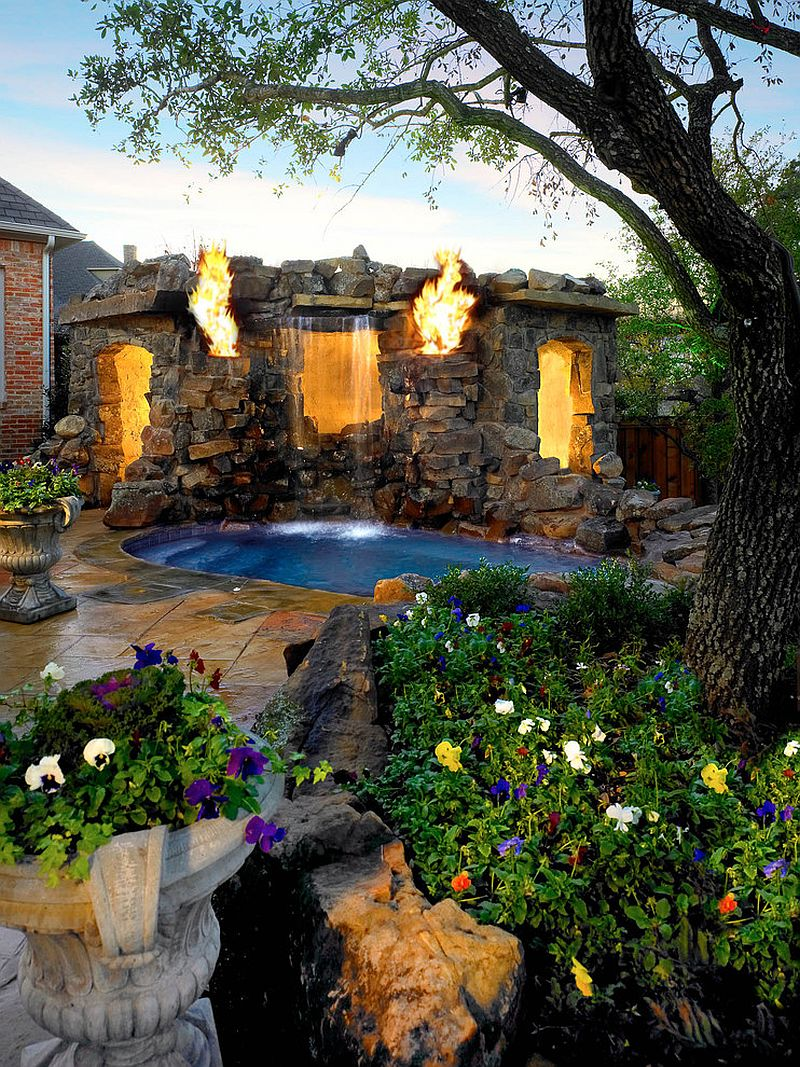 25 Spectacular Tropical Pool Landscaping Ideas on Tropical Backyards  id=64722