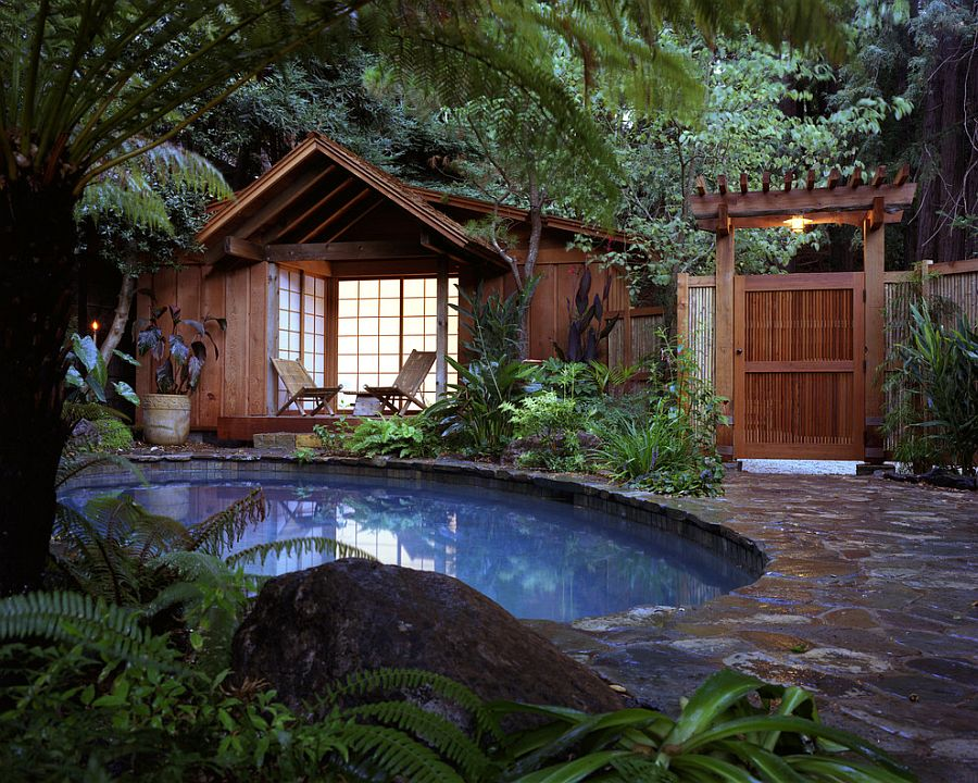 25 Spectacular Tropical Pool Landscaping Ideas on Tropical Backyards  id=48948