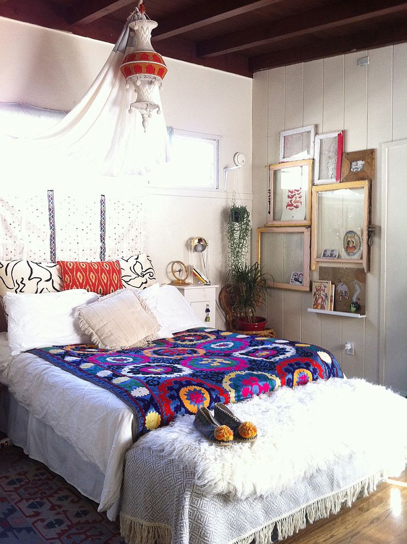 Top Interior Decorating Trends for Spring 2016 on Bohemian Bedroom Ideas  id=91310