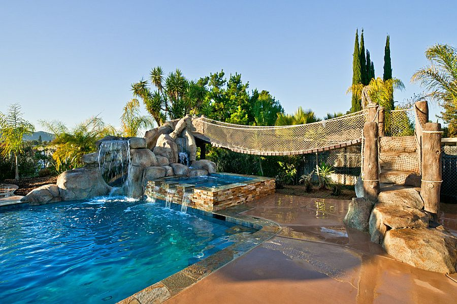 25 Spectacular Tropical Pool Landscaping Ideas on Tropical Backyards  id=20579