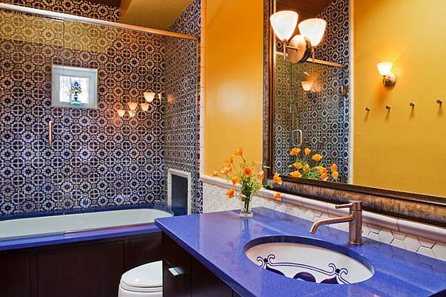 Trendy Twist To A Timeless Color Scheme: Bathrooms In Blue