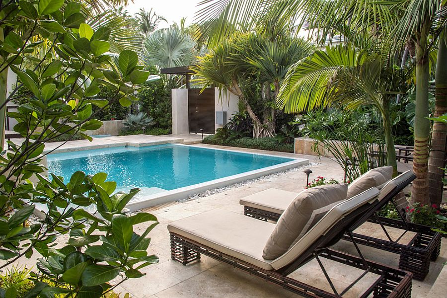 25 Spectacular Tropical Pool Landscaping Ideas on Backyard Pool Landscape Designs id=13702