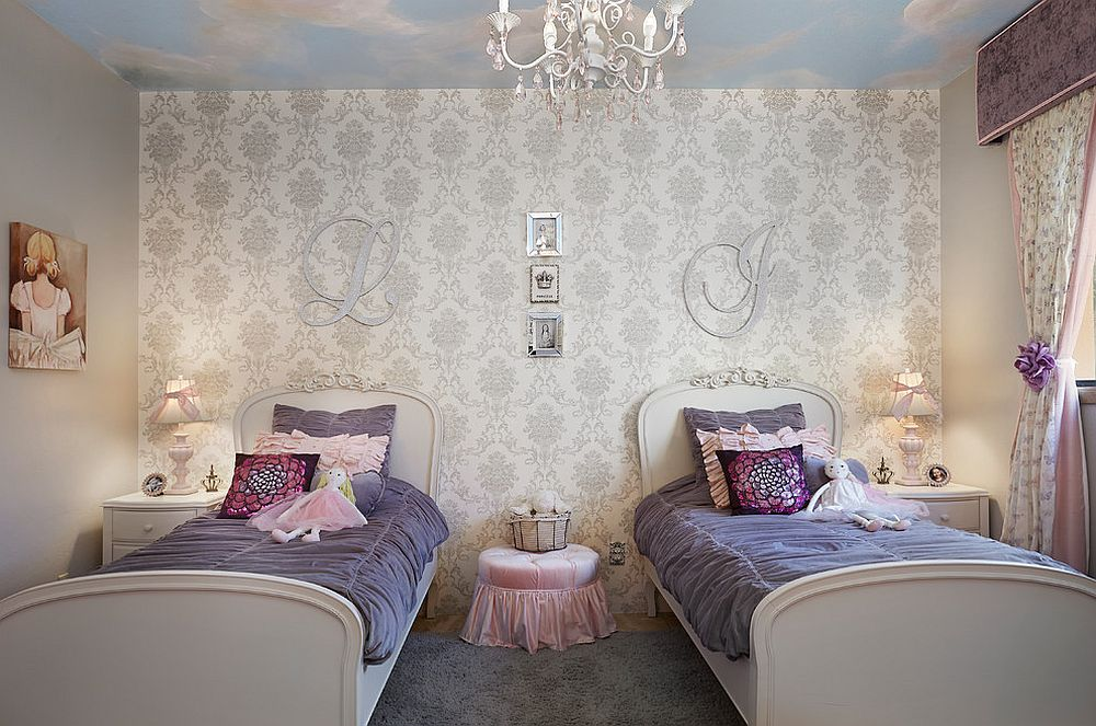 30 Creative and Trendy Shabby Chic Kids' Rooms on Beautiful Rooms For Girls  id=14388
