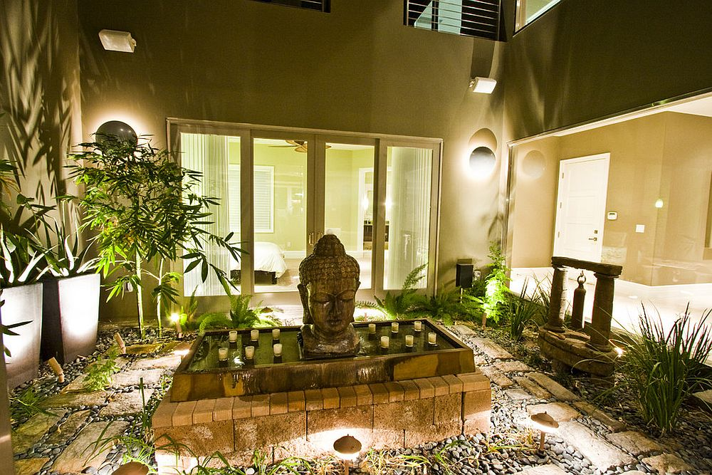 A World of Zen: 25 Serenely Beautiful Meditation Rooms on Meditation Patio Ideas  id=76063