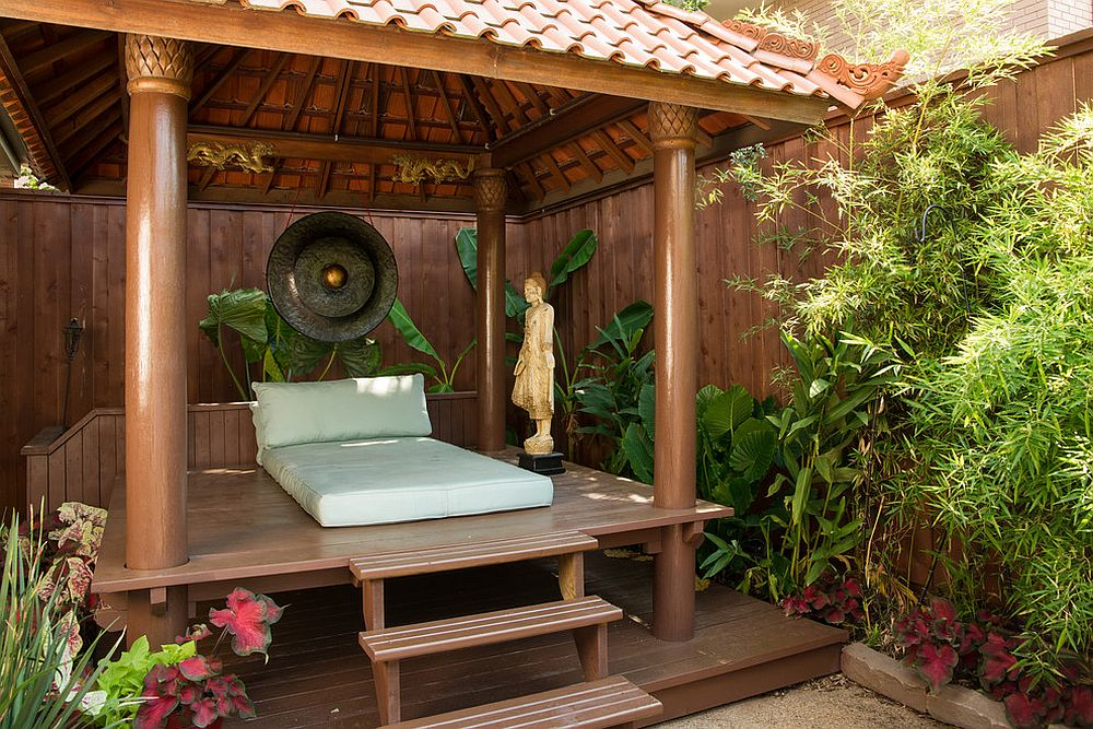 A World of Zen: 25 Serenely Beautiful Meditation Rooms on Meditation Patio Ideas  id=67848