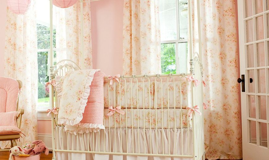 10 shabby chic nurseries with charming