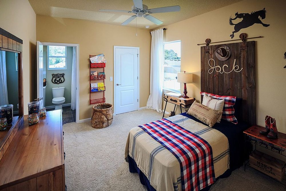 27 Creative Kids' Rooms with Space-Savvy Sliding Barn Doors on Room Decor Ideas De Cuartos Aesthetic id=82596