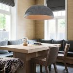 Refined Simplicity 20 Banquette Ideas For Your Scandinavian Dining Space
