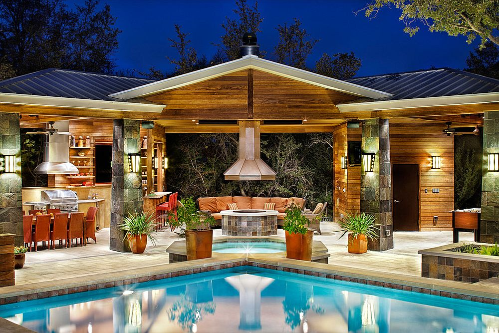 25 Pool House Designs To Complete Your Dream Backyard Retreat on Dream House Backyard id=81078
