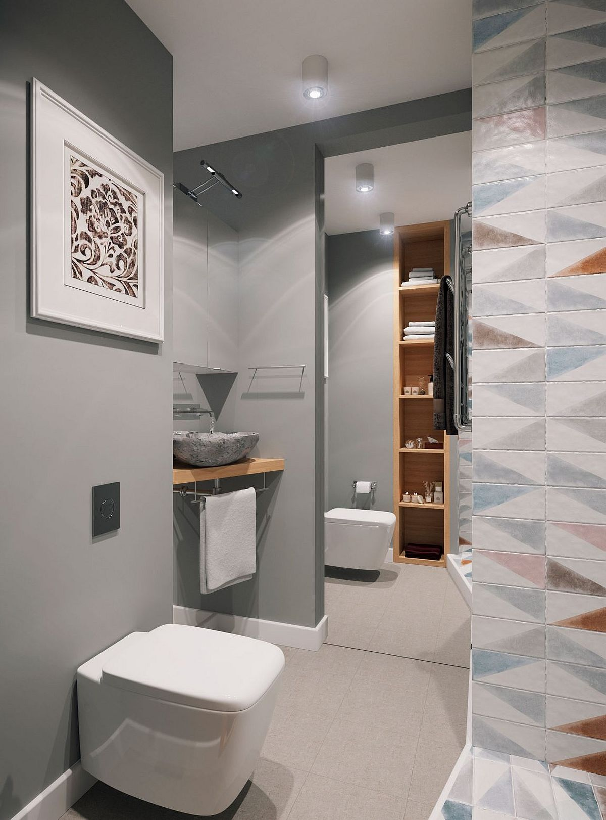 Tiny 34sqm Apartment Blends Space Savvy Design With