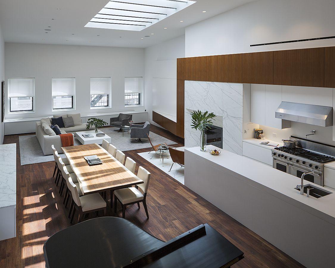 NoHo Loft Single Floor Apartment Turned Into A Luxurious