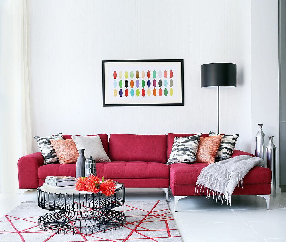 vibrant trend 25 colorful sofas to