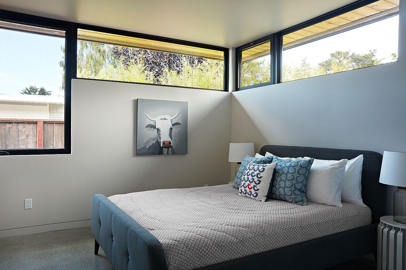 Glass Wall House Custom Design Meets Eichler Inspired Modern Flair