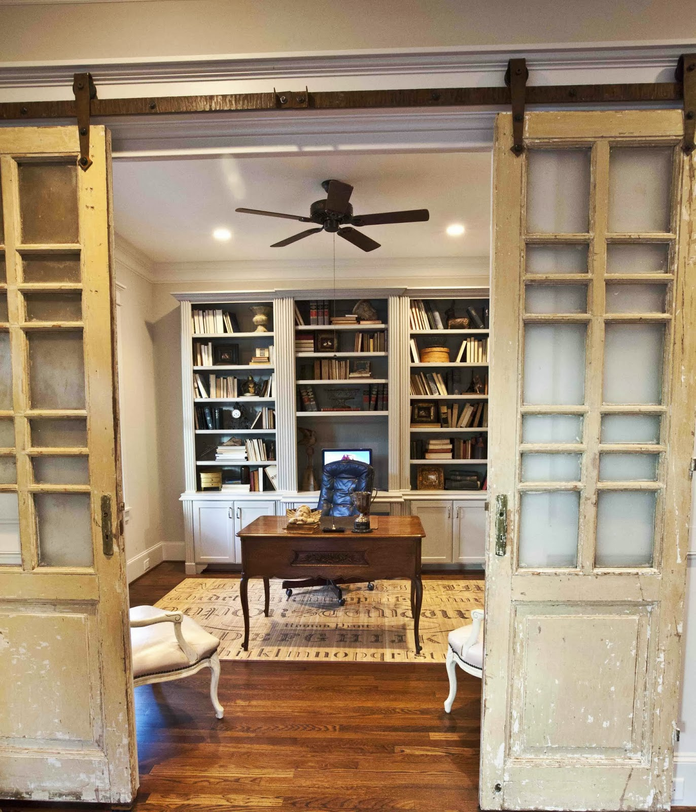 Country Living Home Office Ideas