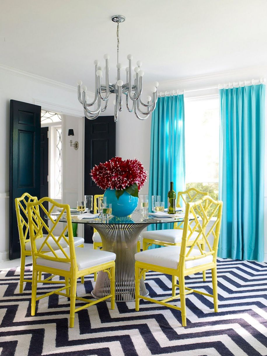 Serve it Bright: 15 Ways to Add Color to Your Contemporary ...
