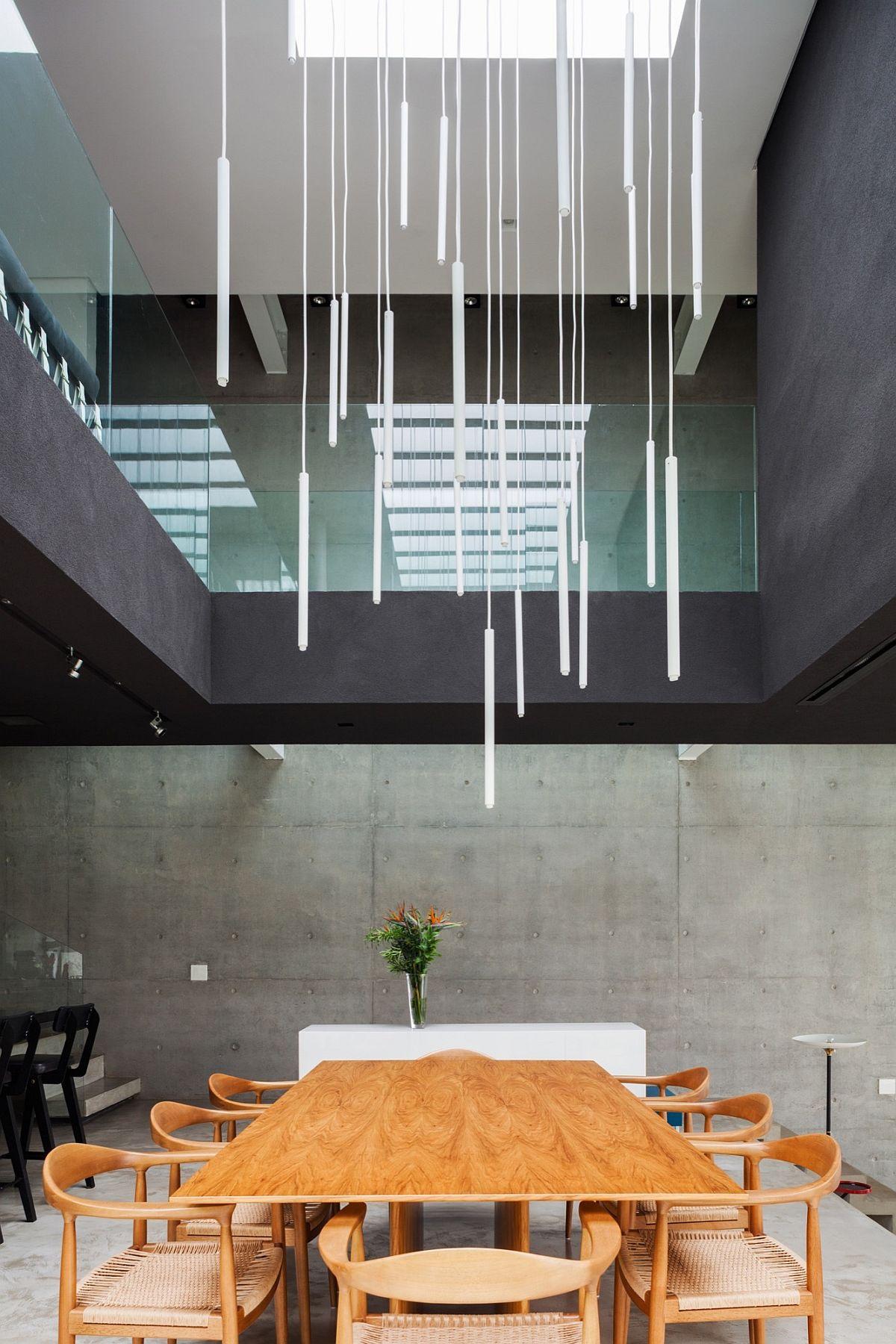 Brazilian Modern Poised Multi Level Family Home In Sao Paulo