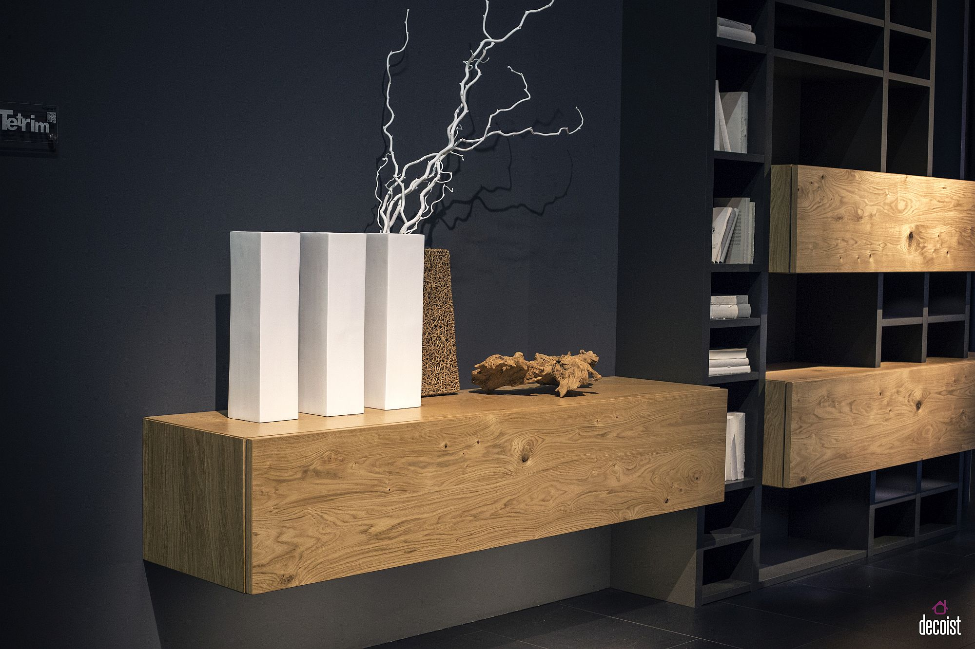 10 Floating Wooden Cabinets And Shelves That Offer Modular Ease