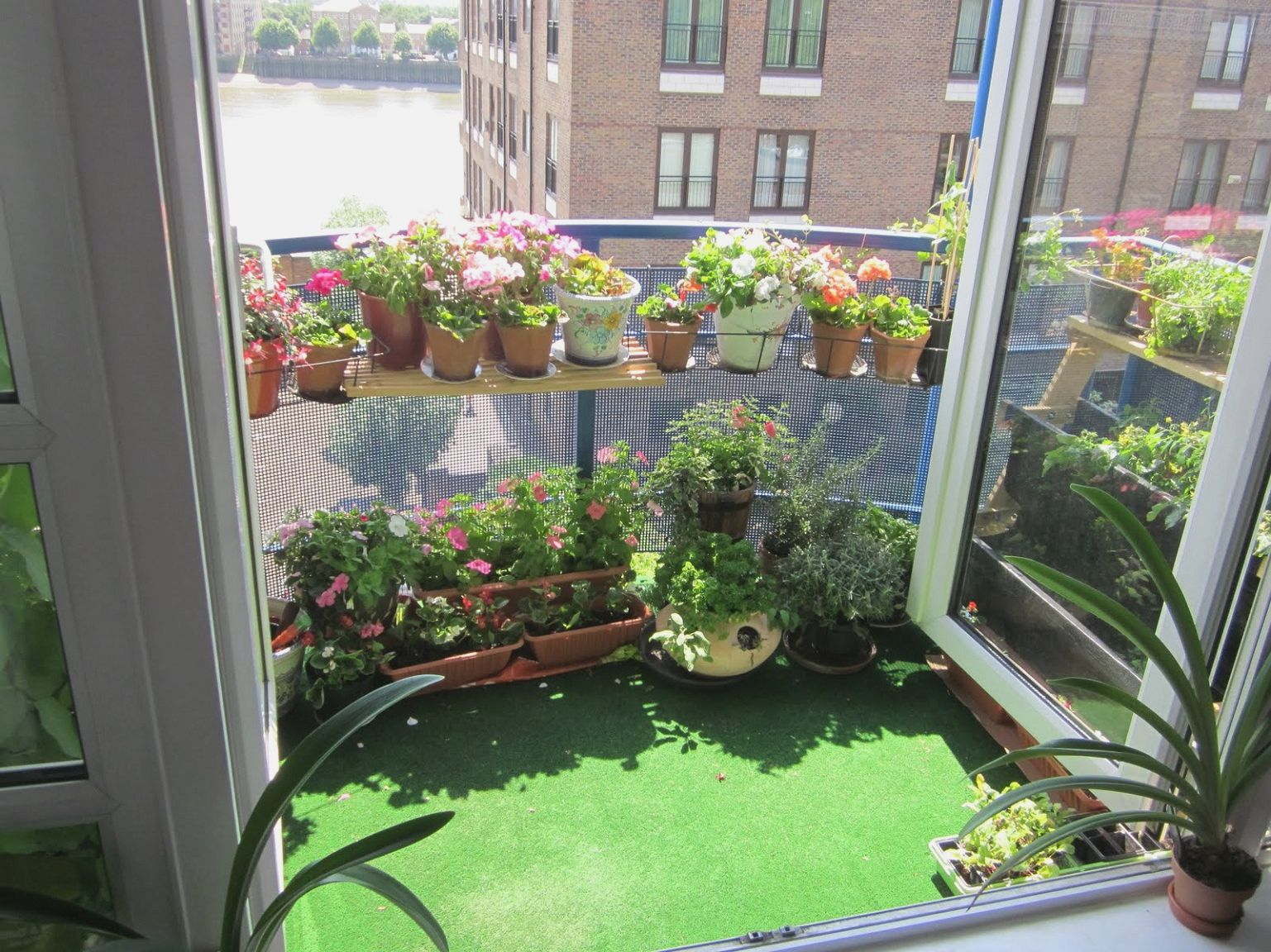 urban oasis balcony gardens that prove green is always in on Artificial Garden For Balcony id=94134