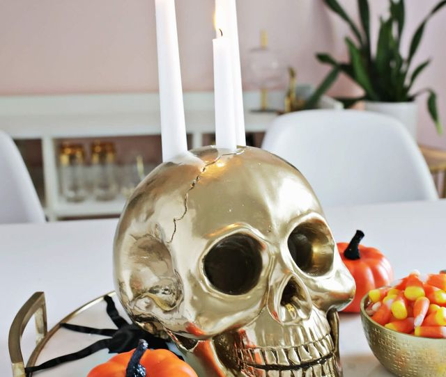 Halloween Candles And Candle Holders For You View In Gallery