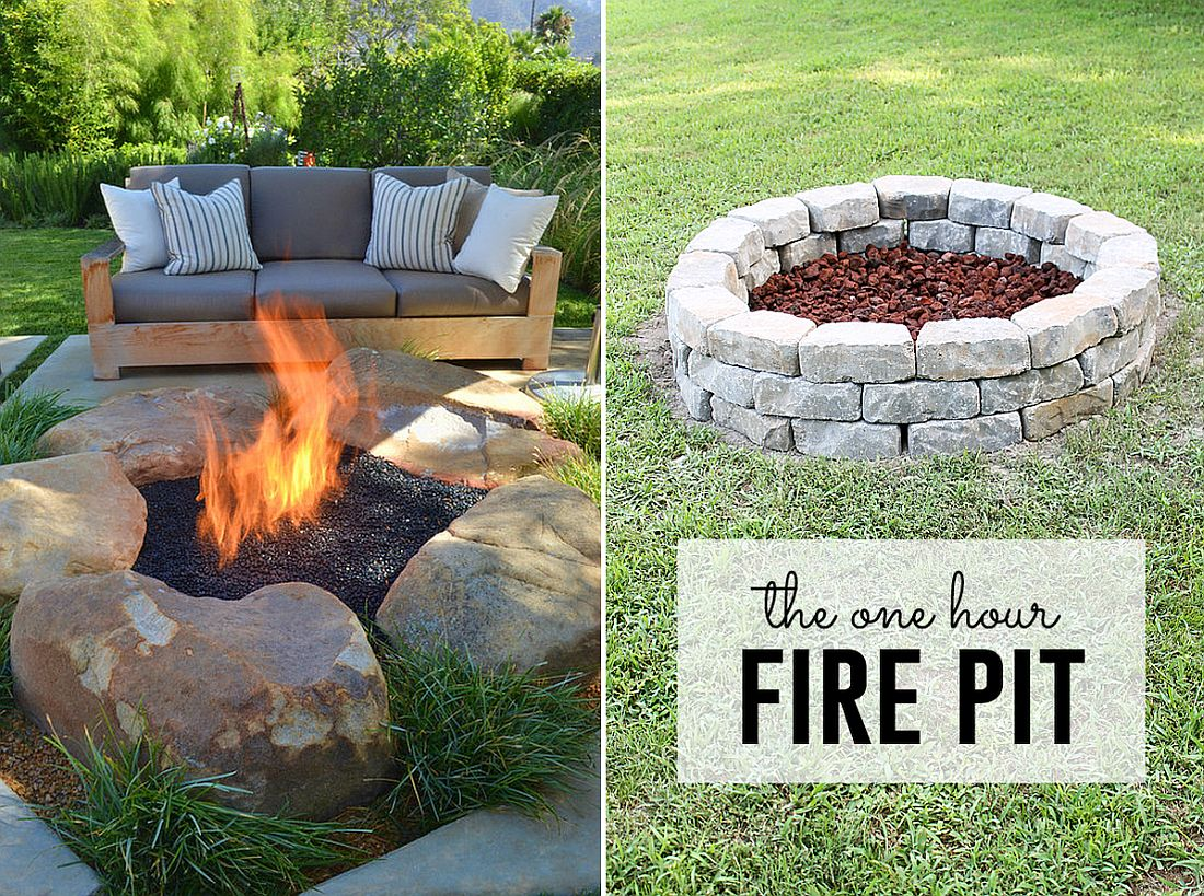 10 DIY Fire Pits that are Affordable and Relatively Easy ... on Backyard Fire Pit Ideas Diy id=58890