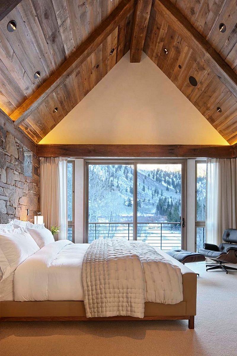 perfect modern rustic bedroom