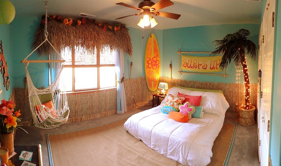 30 Best Tropical Bedroom Ideas   Trendy Photos and Inspirations For Kids  and Teens