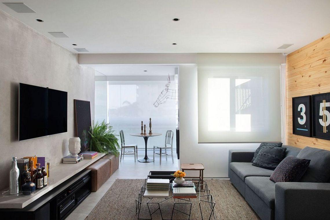 50+ Small Apartment Living Room Design & Decoration Ideas