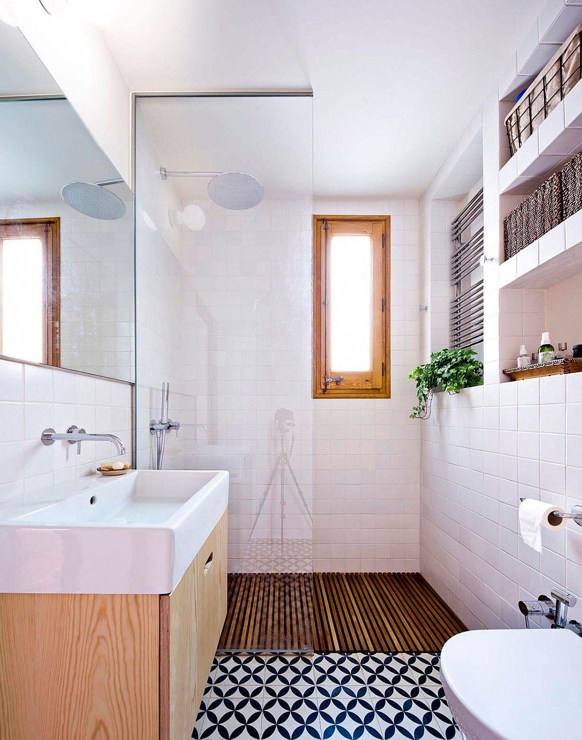 25 Tiny Apartment Bathroom Ideas that Maximize Space and ... on Bathroom Ideas For Apartments  id=65793
