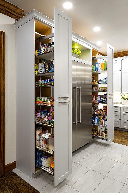 Minimalist Kitchen Pantry