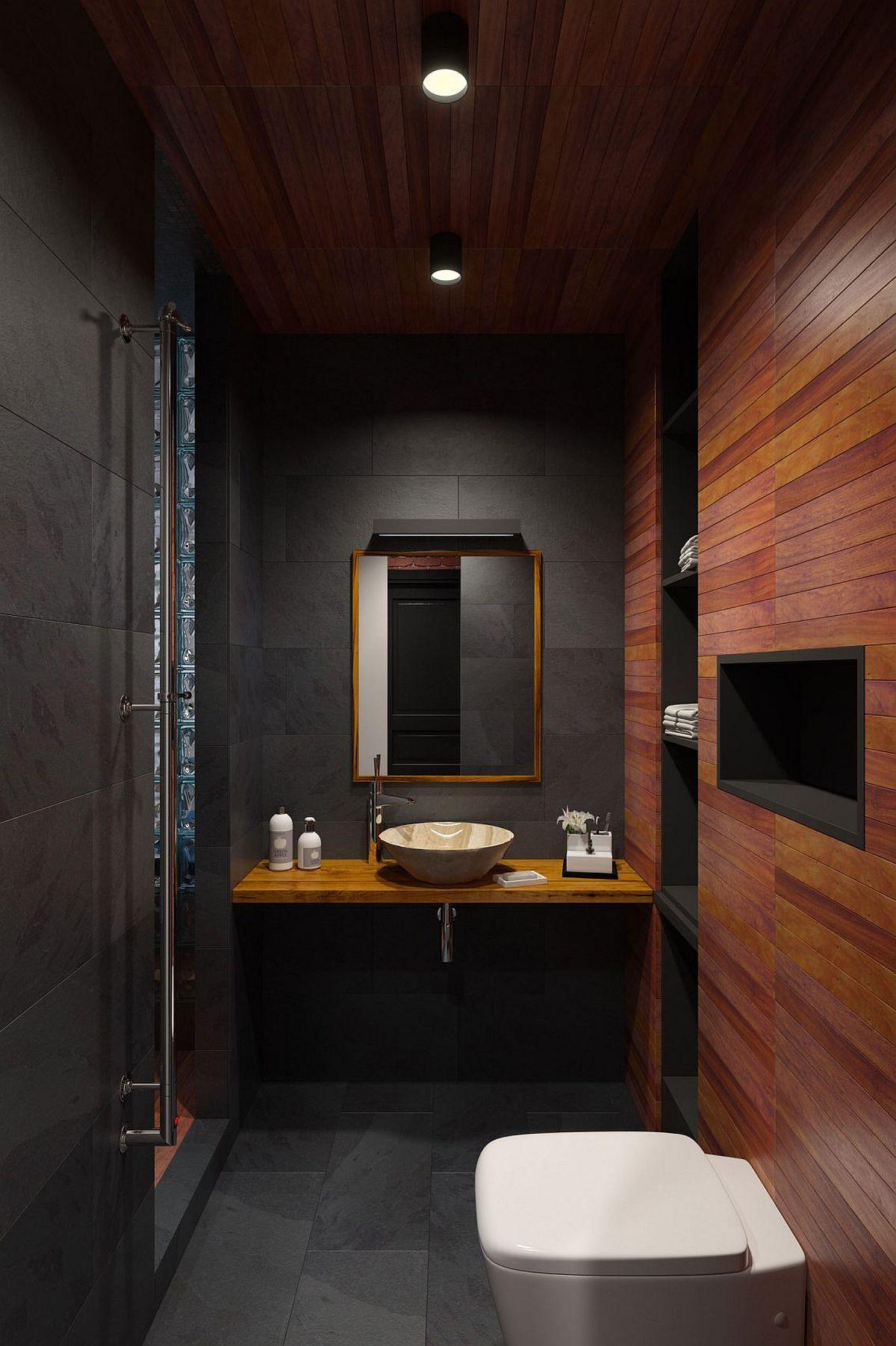 25 Tiny Apartment Bathroom Ideas that Maximize Space and ... on Apartment Bathroom Ideas  id=33584