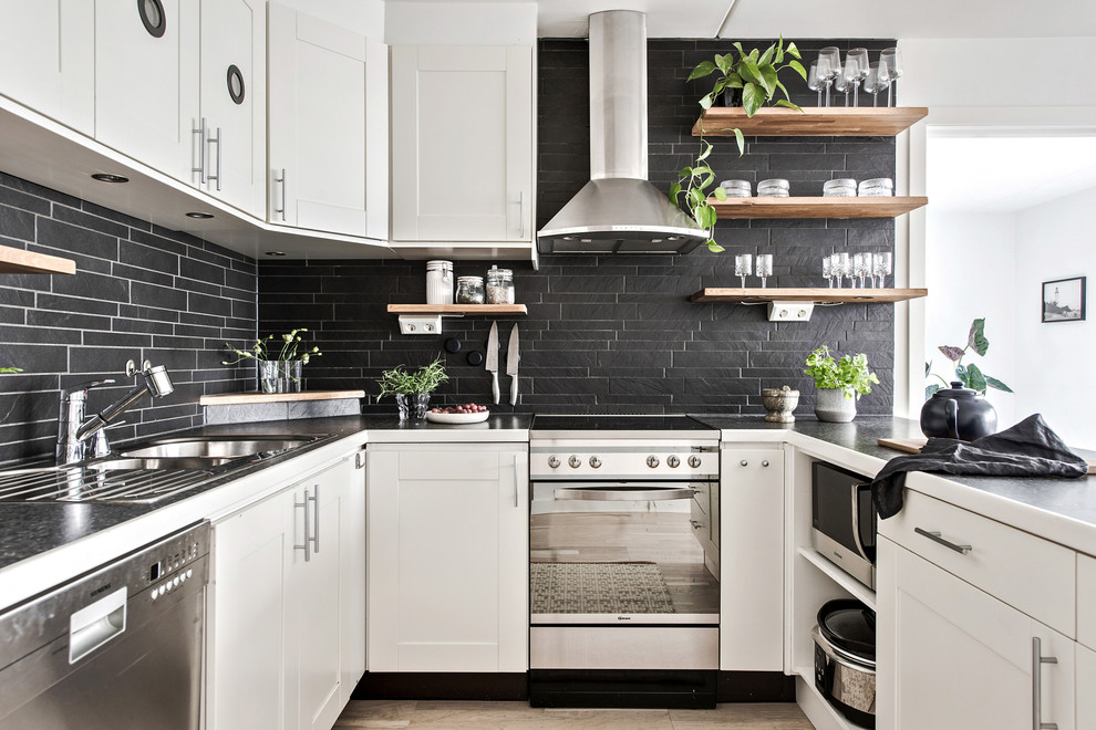 Bold and Trendy Kitchen Backsplash Ideas to Try Out this Fall on Backsplash Ideas For Dark Cabinets  id=25431