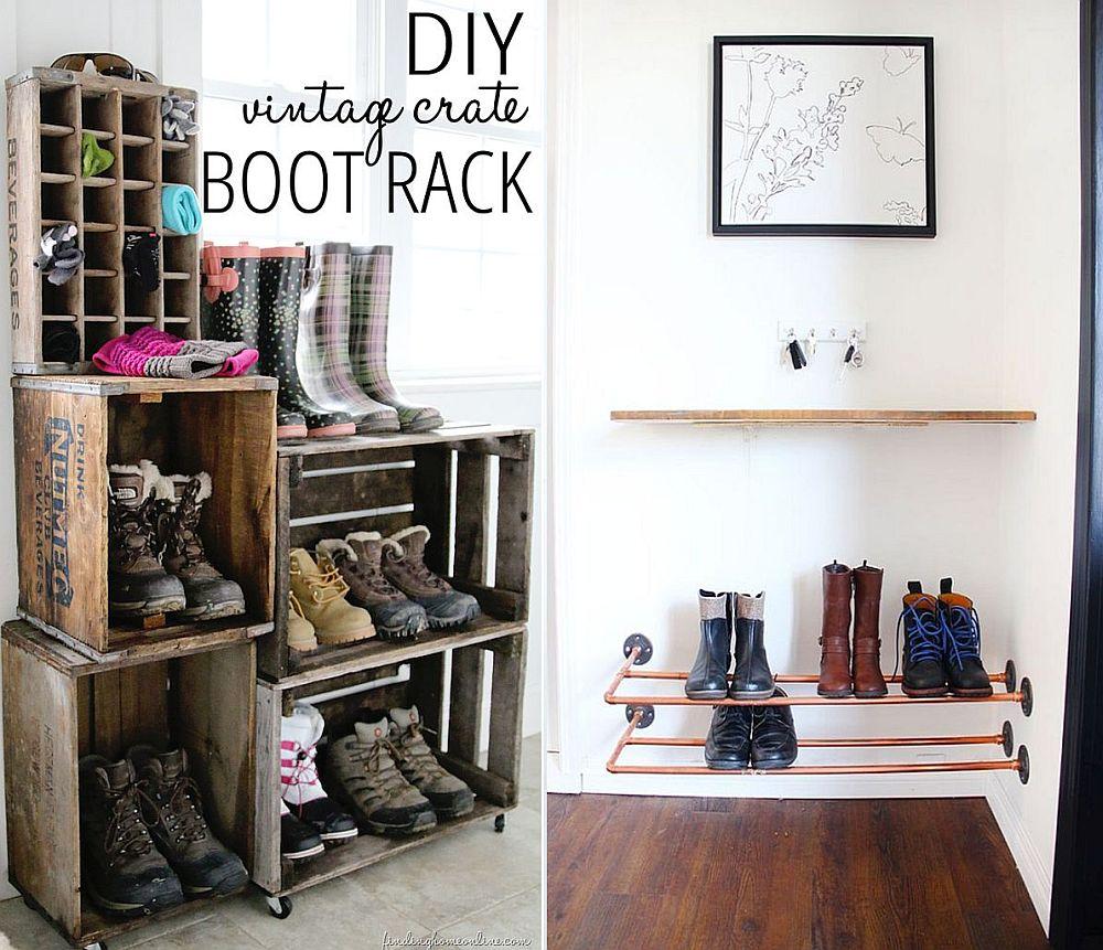 35 diy shoe rack ideas for organized homes