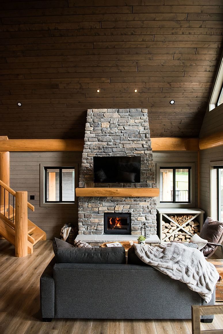 25 Awesome Rustic Living Rooms Perfect For The Modern Home