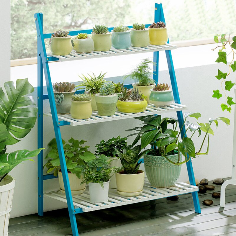 Outdoor Plant Stand Ideas for Your Summer Yard Refresh on Plant Stand Ideas  id=56218
