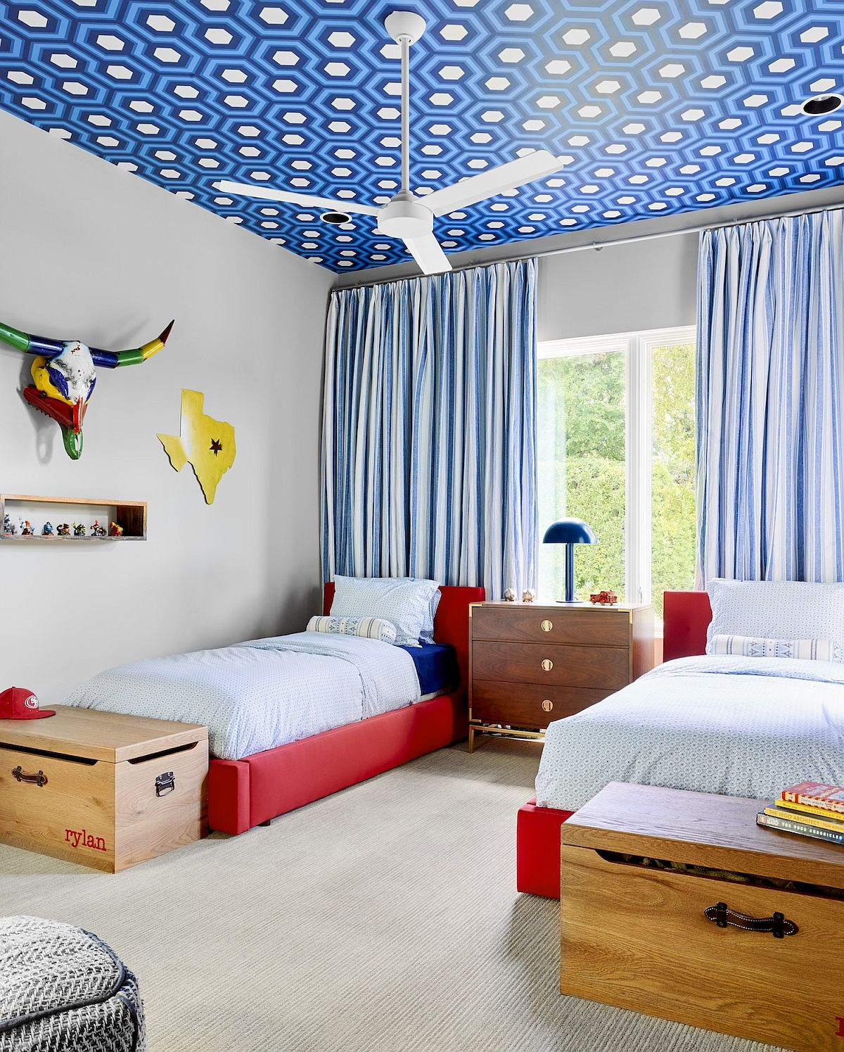 Wallpaper On The Ceiling Ideas To Make Kids Rooms Even More Brilliant