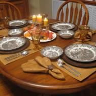 100 Christmas Dinner Table Decor Traditionnal