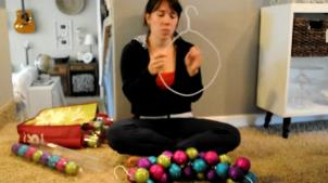100 Christmas Ornament Garland Balls Best