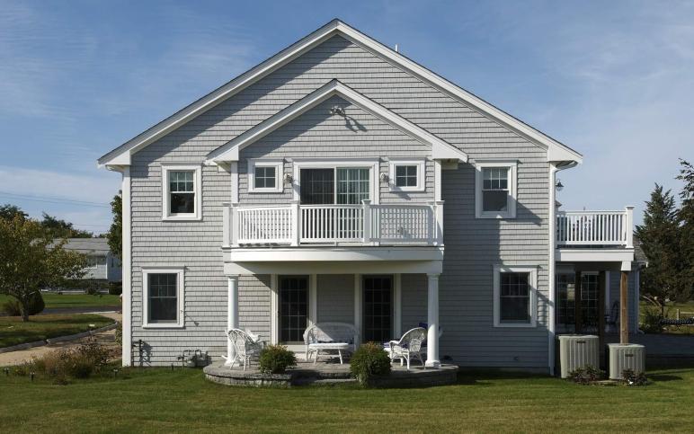 100 Gray Cape Cod House Wood Concrete