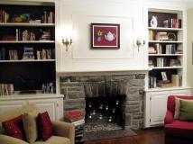 100 Half Day Designs Fireplace Bookshelves