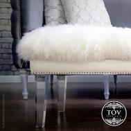 100 Mongolian Fur Bench Diy Covered