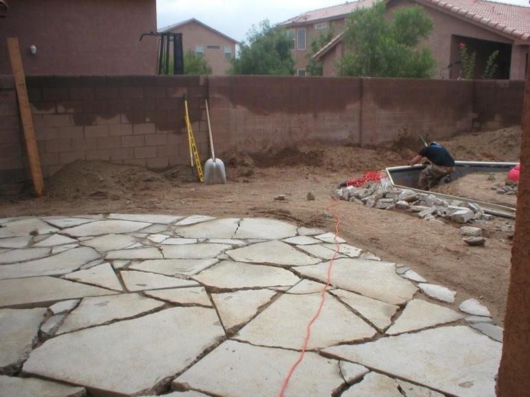 1000 Paving Broken Concrete