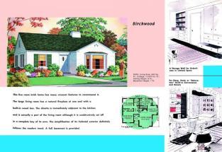 1930 House Plans 1940s Bungalow Style Rambler Ranch