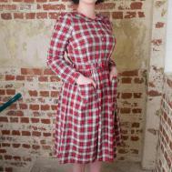 1940s Vintage Inspired Primrose Long Sleeve Tea