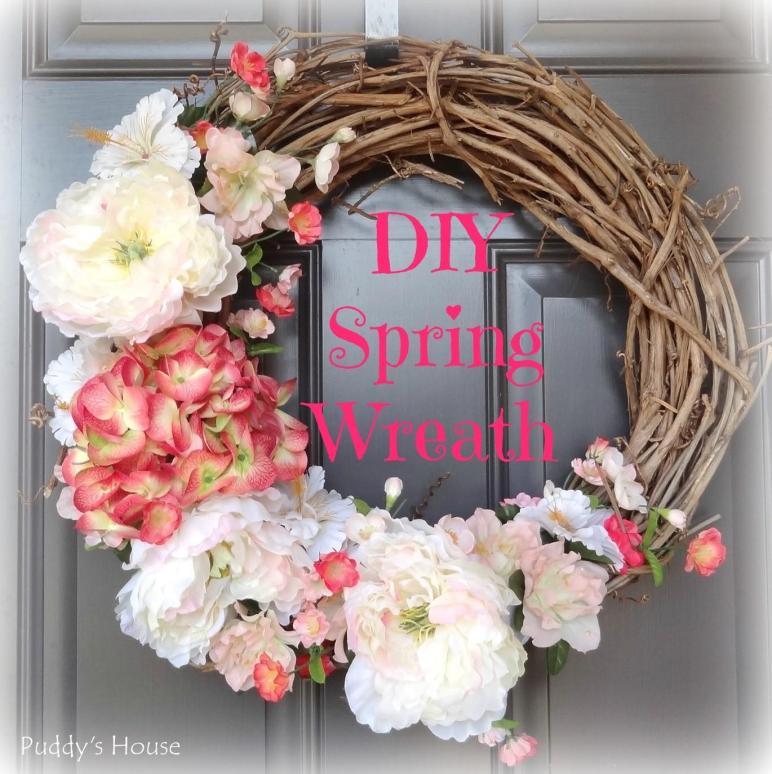 2014 Diy Spring Wreath Puddy House
