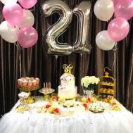 21st Birthday Decoration Balloons