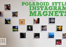 231 Designs Diy Polaroid Style Instagram Magnets