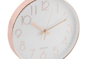 30cm Rose Gold Copper Wall Clock Bronze Modern Stylish