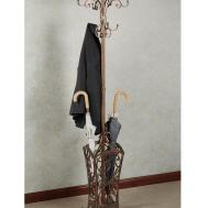 Absorbing Interior Wooden Tree Standing Coat Rack Witth